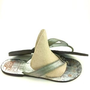 Tory Burch Grey Sandals Size 7M